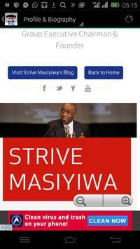 Strive Masiyiwa Blog apk screenshot