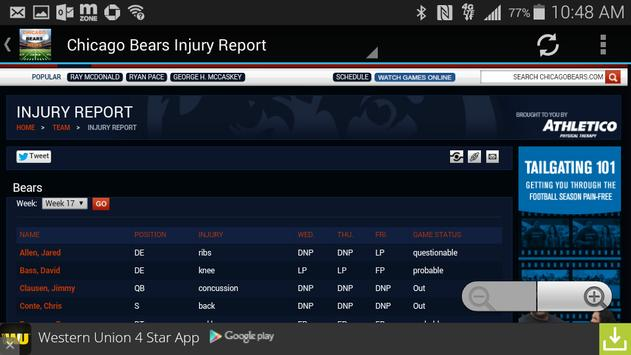 Chicago Bears News for Android - APK Download