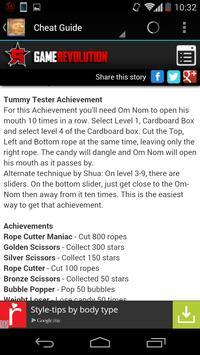 New Cut The Rope Guide apk screenshot