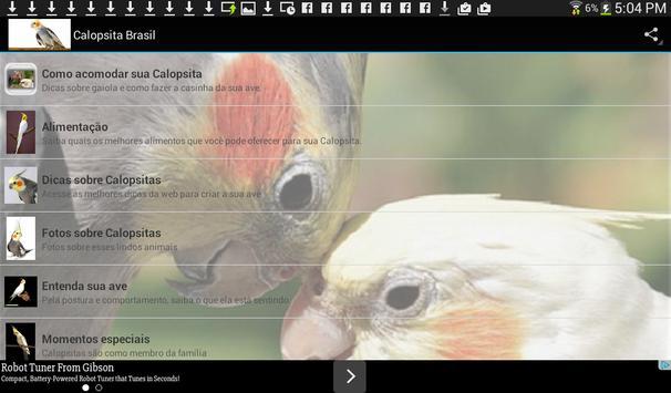 Calopsita Brasil screenshot 4