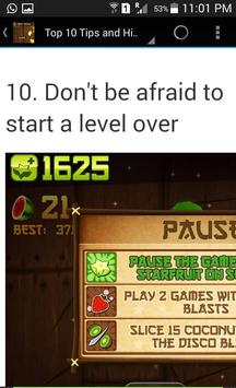 New Guide for Fruit Ninja apk screenshot