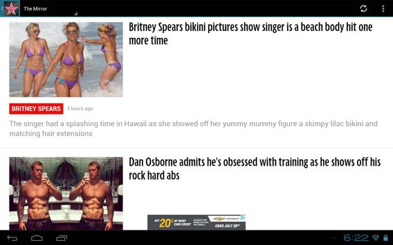 Hollywood Headline: Celeb News apk screenshot