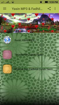 Yasin MP3 & Fadhilatnya poster