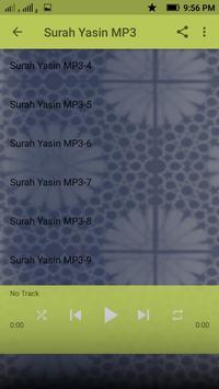 Yasin MP3 & Fadhilatnya apk screenshot