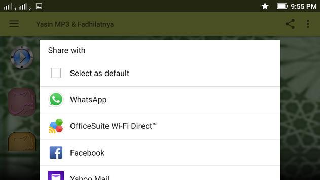 Yasin MP3 & Fadhilatnya screenshot 6
