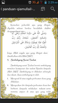 Qiamullail & Solat Sunat apk screenshot