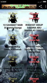 10 Sahabat Nabi DiJamin Syurga poster