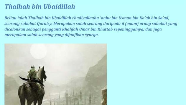 10 Sahabat Nabi DiJamin Syurga apk screenshot
