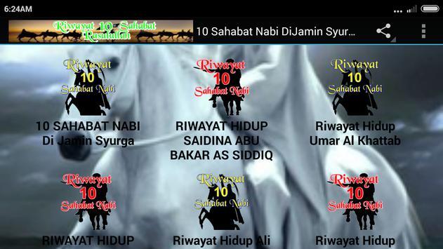 10 Sahabat Nabi DiJamin Syurga screenshot 8