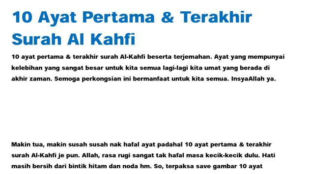 Gambar Download Lantunan Surat Al Kahfi Ayat 1 10 Brad Erva