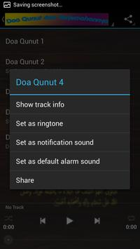 Doa Qunut MP3 apk screenshot