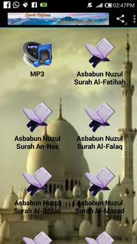Surah Hafazan & Asbabun Nuzul poster