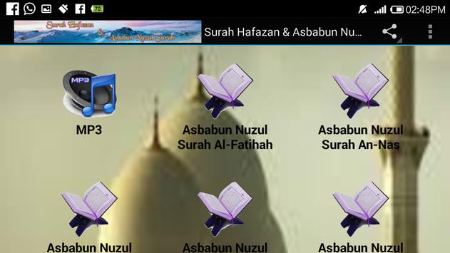 Surah Hafazan & Asbabun Nuzul screenshot 9
