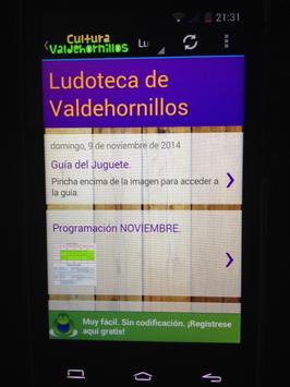 Cultura Valdehornillos screenshot 5
