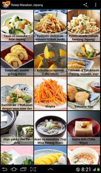 Aneka Resep Masakan Jepang apk screenshot