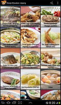 Aneka Resep Masakan Jepang screenshot 2