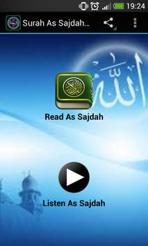Surah As Sajdah MP3 poster