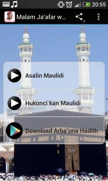Malam Ja'afar wa'azin Maulidi screenshot 5