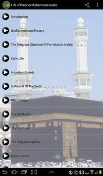 Life of Prophet Muhammad Audio apk screenshot