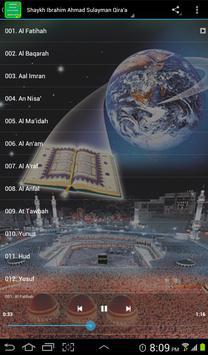 Ahmad Sulaiman Complete Quran MP3 screenshot 1
