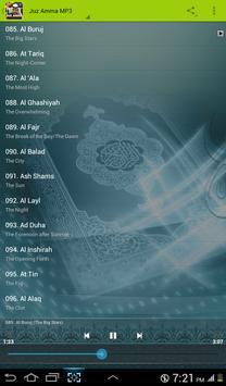 Ahmad Saud Quran Juz Amma MP3 apk screenshot