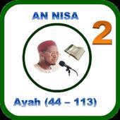 Tafsir Suratun Nisa'i (44-113) icon