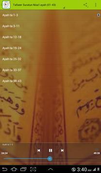 Tafseer Suratun Nisa'i (01-43) apk screenshot