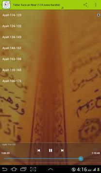 Tafsir Sura an Nisa' (114-end) OFFLINE screenshot 5