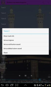 Islamic Ringtones - Music Free screenshot 5