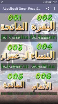 Abdul Basit Full Quran MP3 OFFLINE Read & Listen screenshot 1