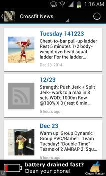 Crossfit News poster