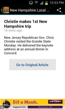 New Hampshire Local News apk screenshot