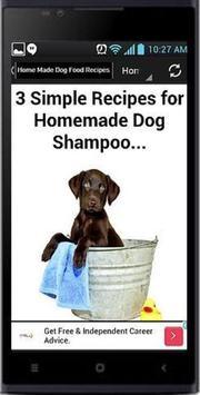 Homemade Dog Food Recipes apk screenshot