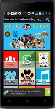 Homemade Dog Food Recipes poster