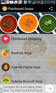 Plant Based Soup Recipes screenshot 1