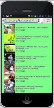 Koleksi video lagu raya 2015 for android apk download.