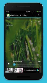Murottal Qur'an apk screenshot