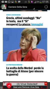 ITALIAN NEWSPAPERS apk screenshot