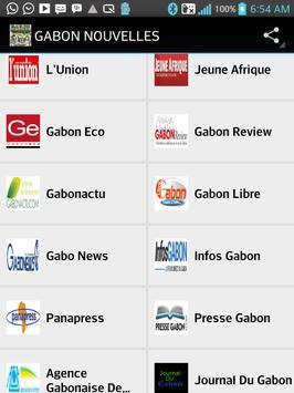 GABON NOUVELLES apk screenshot