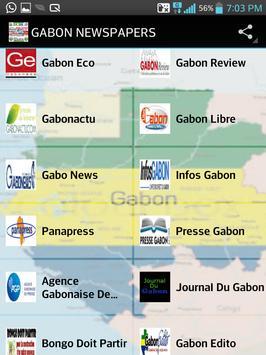 GABON NEWSPAPERS apk screenshot