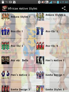 AFRICAN FASHION STYLES poster