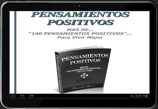 Pensamientos Positivos poster