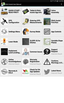 Ditch Assist™ User Manual apk screenshot