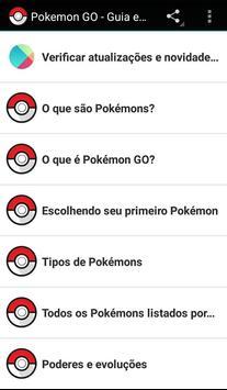 Guia Pokemon GO em Português poster