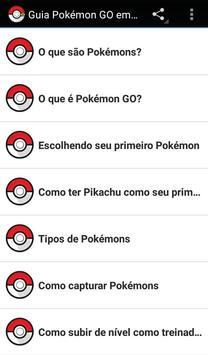 Guia Pokémon GO Brasil poster