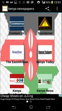 kenya newspapers poster