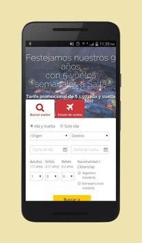 Cheap Flights Argentina apk screenshot