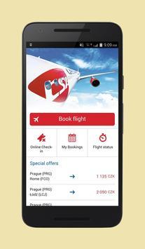 Cheap Flights Czech Republic poster