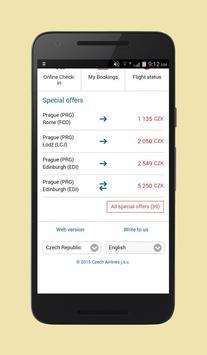 Cheap Flights Czech Republic apk screenshot