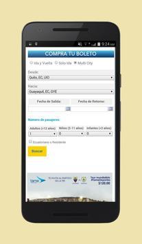 Cheap Flights Ecuador apk screenshot